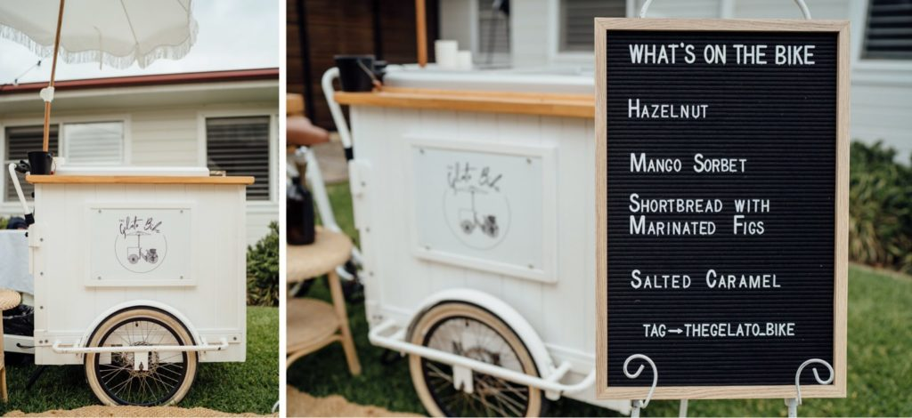 Wedding Gelato Cart